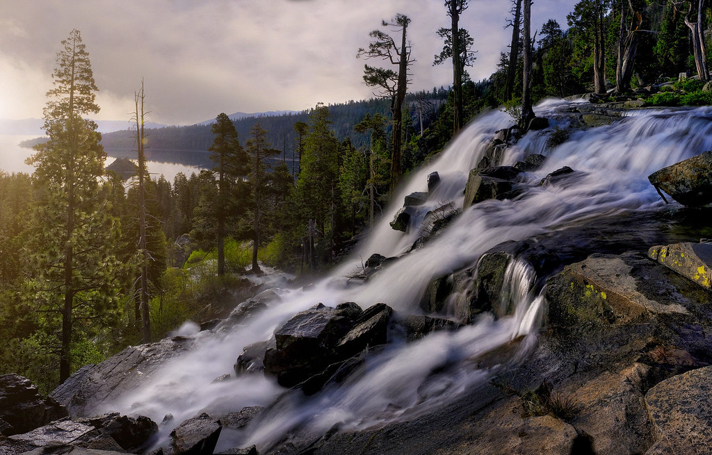 Eagle Falls In the Morning
