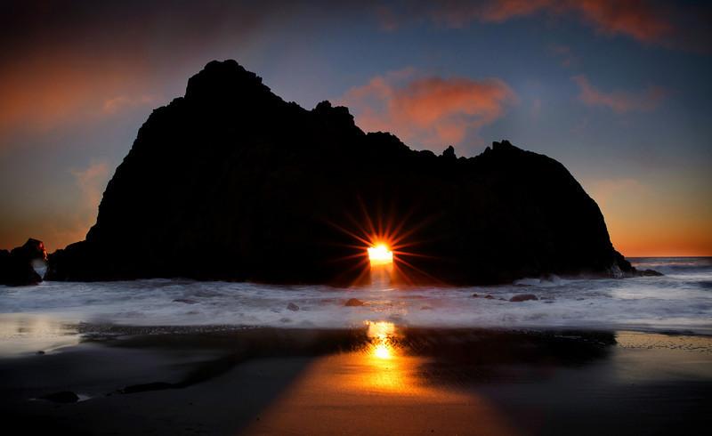 Big Sur, Pfiefer Beach