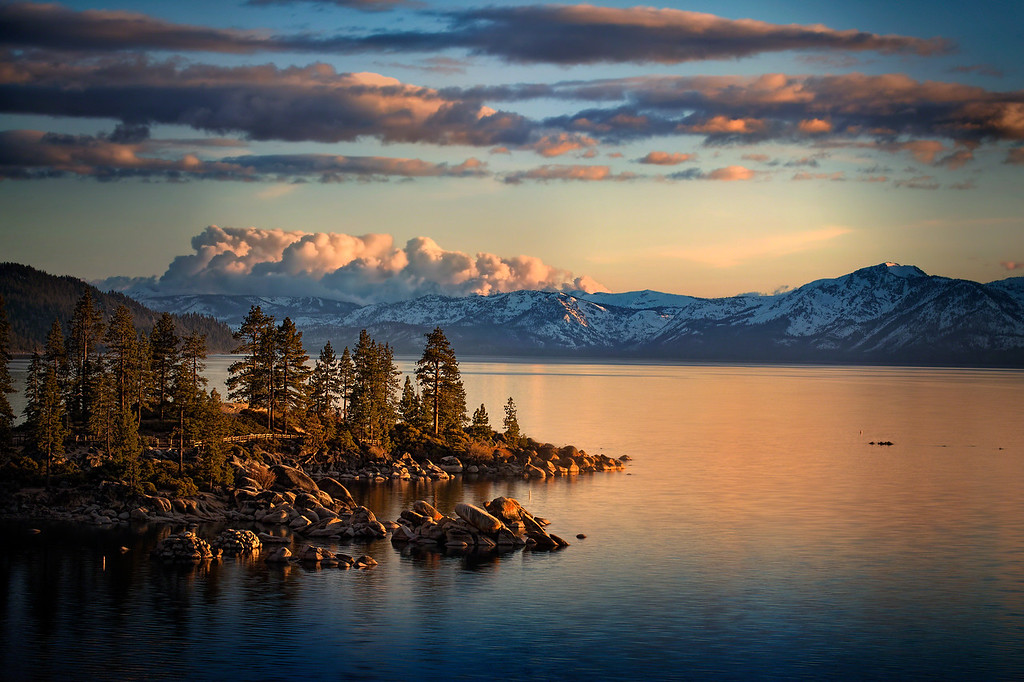 Lake Tahoe Glow