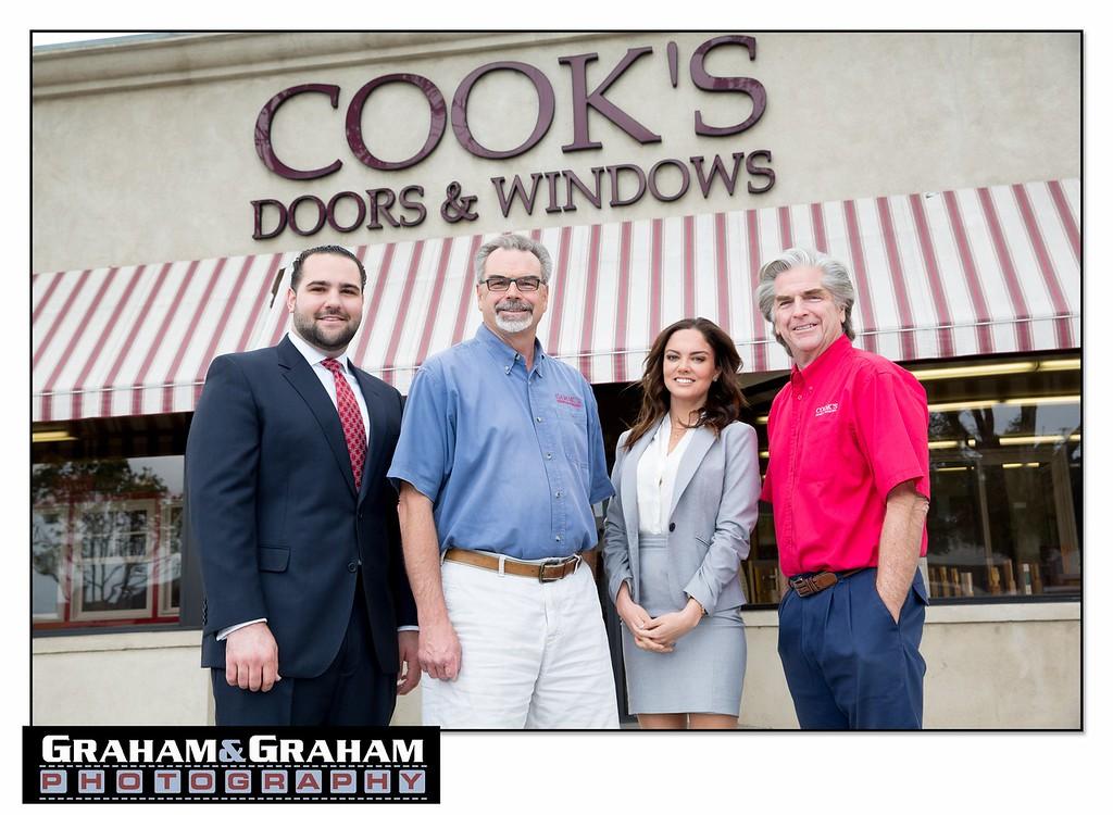 Plaza Bank and Cook's Doors & Windows