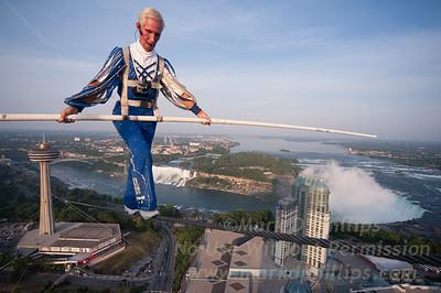 Over Niagara Falls