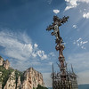 Montserrat Crucifix on the Mountain
