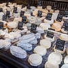 Cheeses in a French Market