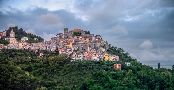 Italian Hillside City