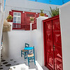 Mykonos Red Door