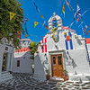 Church on Mykonos, Greece