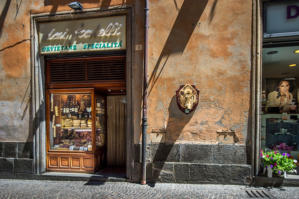 Shops in Orvieto