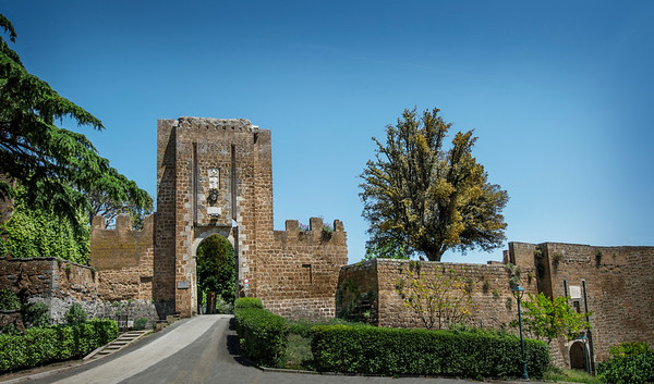 Umbria, Italy, walled city