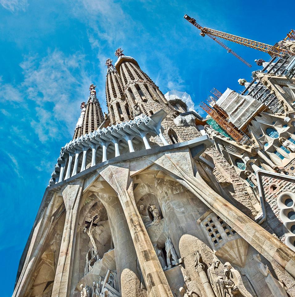 """The Cathedral of """"la Sagrada Familia"""""""