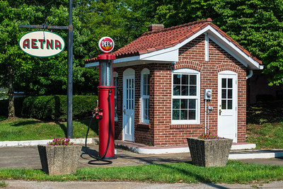 Historic Aetna Gas Station - Middletown - Kentucky