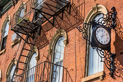 Antique Clock - Historic Downtown Covington - Kentucky