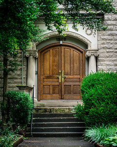 Doorway, Old Louisville Victorian Home - Kentucky