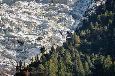 le Chalet du Glacier des Bossons et du Mont Blanc