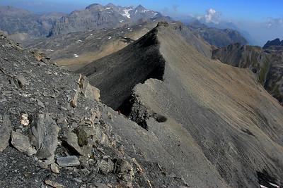 Ridge to Mont Buet
