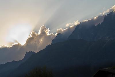 Morning in Chamonix