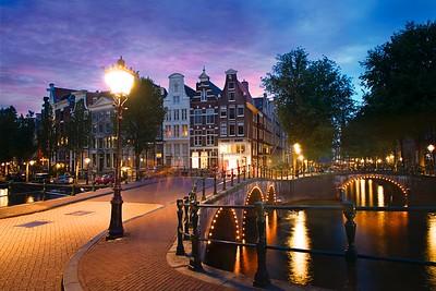Keizersgracht Canal Corner Light