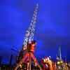 Dock cranes in Rotterdam, Holland