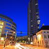 Downtown Eindhoven at night