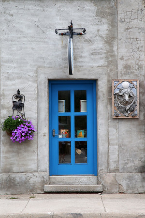A cool door in Clarksburg, Ontario.