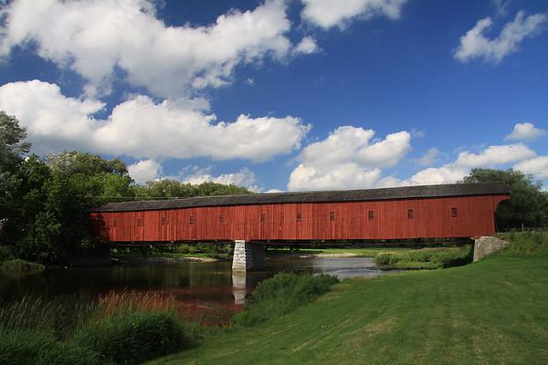 Kissing Bridge at West Montrose