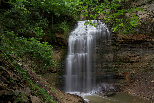 Tiffany Falls in Hamilton, Ontario