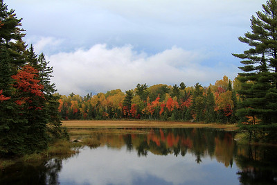 Autumn near Killarney, Ontario.