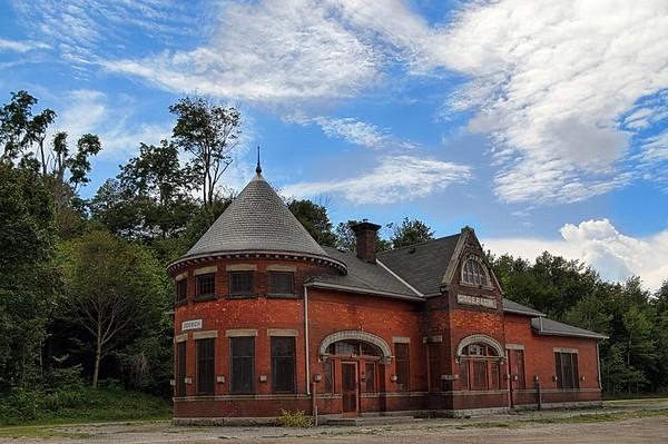 Railway Station in Goderich, Ontario.