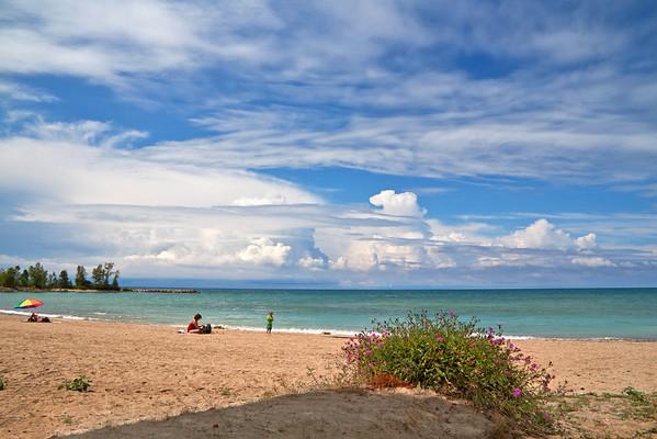 Cove Beach in Goderich Ontario