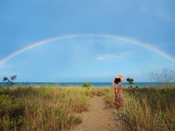 The Woman and the Rainbow