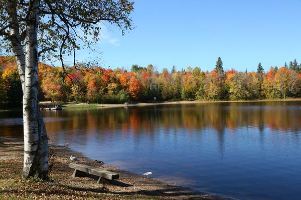 Autumn near Algonquin Park, Ontario
