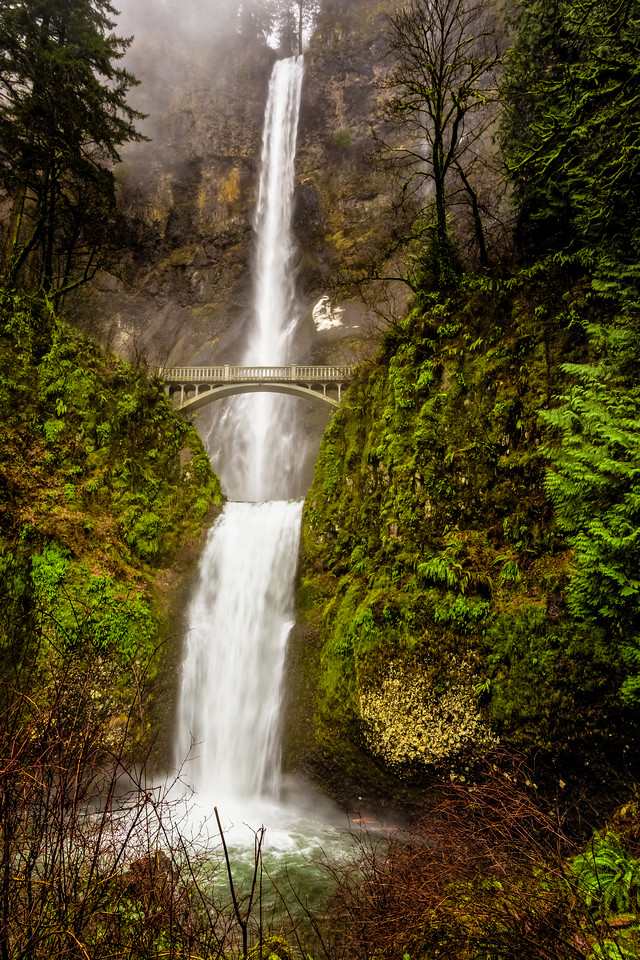 "Multnomah Falls 24""x36"" Stretched Canvas $199.99"