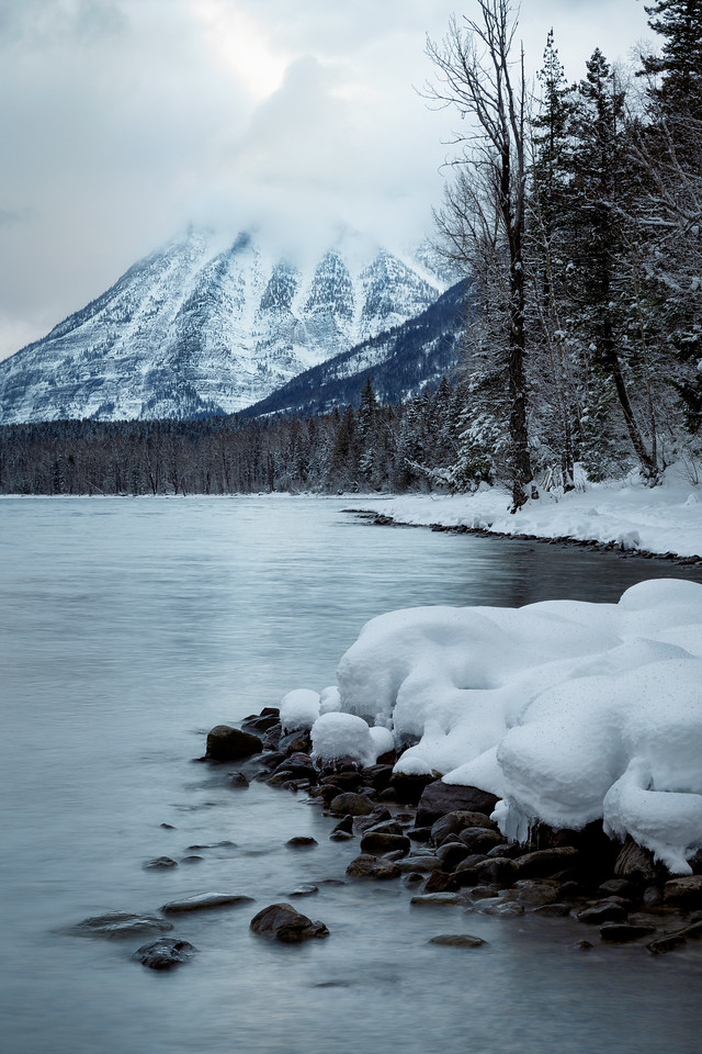 Winter in Glacier National Park