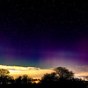 Macclesfield Aurora Borealis Panorama Mother's Day 6th March 2016