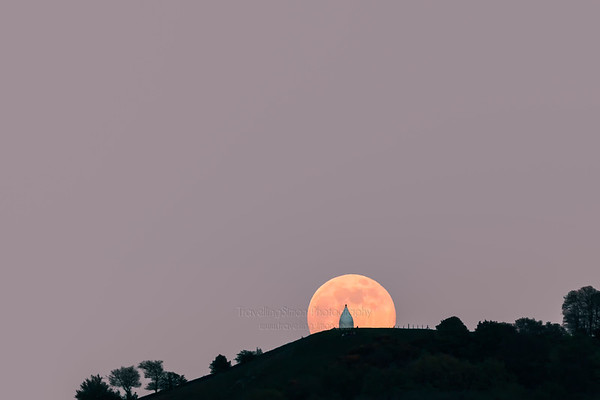 Full Moon rising over White Nancy (uncropped)