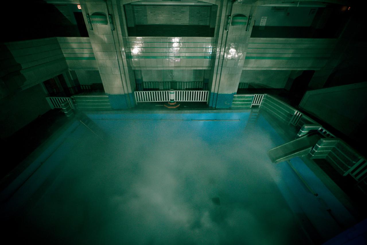 A Dark Night for a Swim