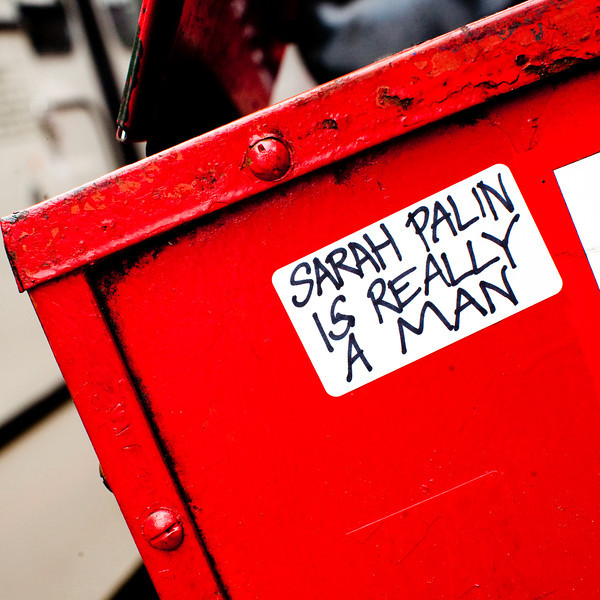 Sarah Palin is Really A Man