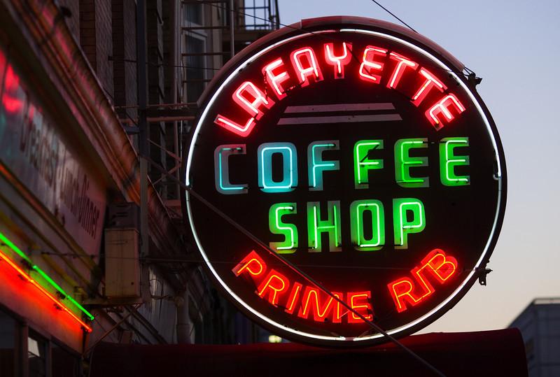Lafayette Coffee Shop