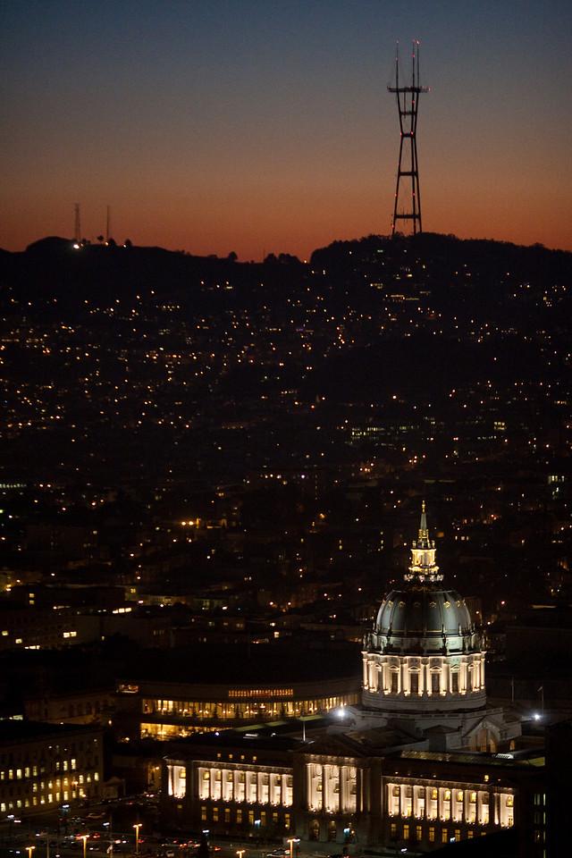 City Hall Sort of Night