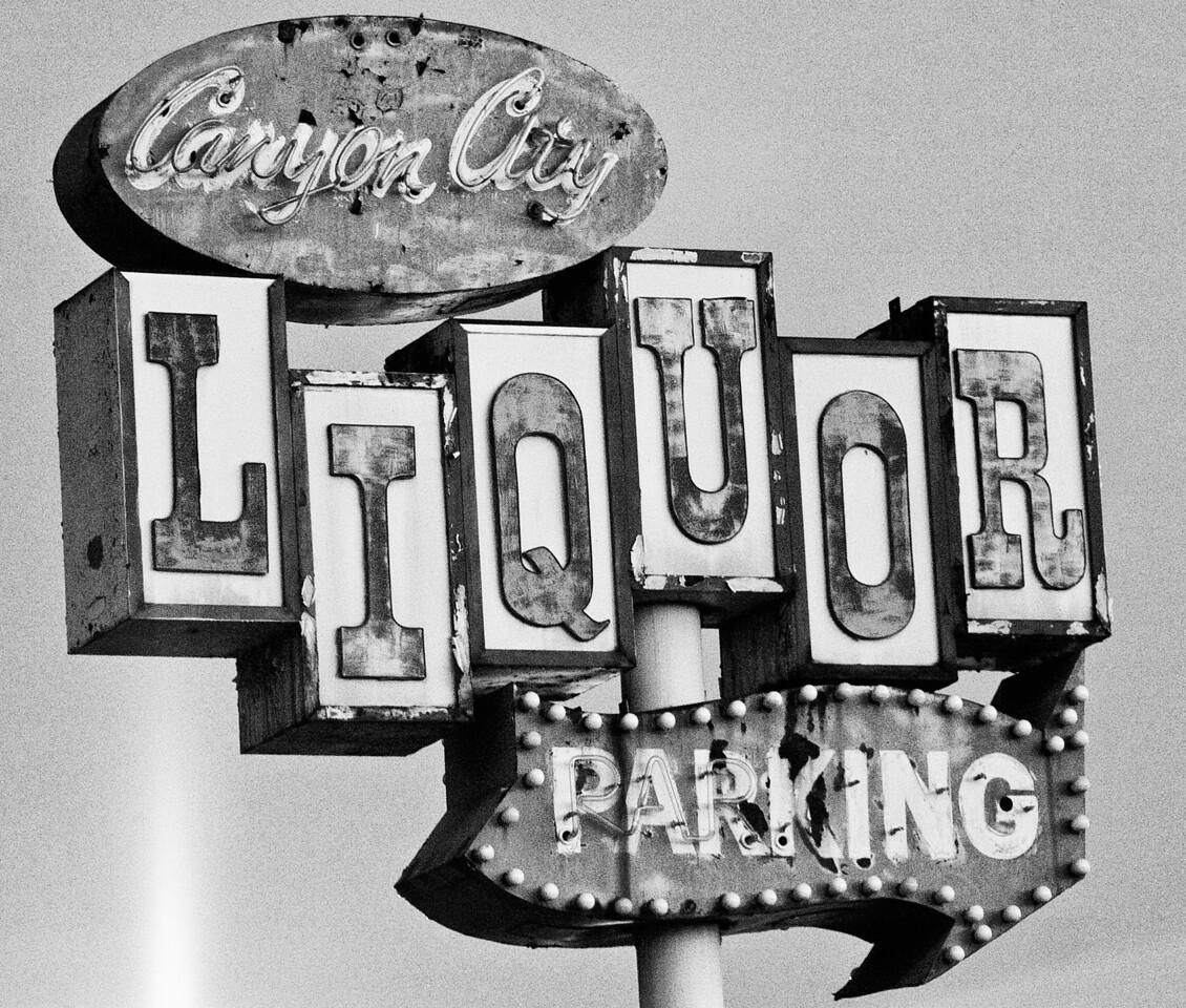 Canyon City Liquor, Plate 2