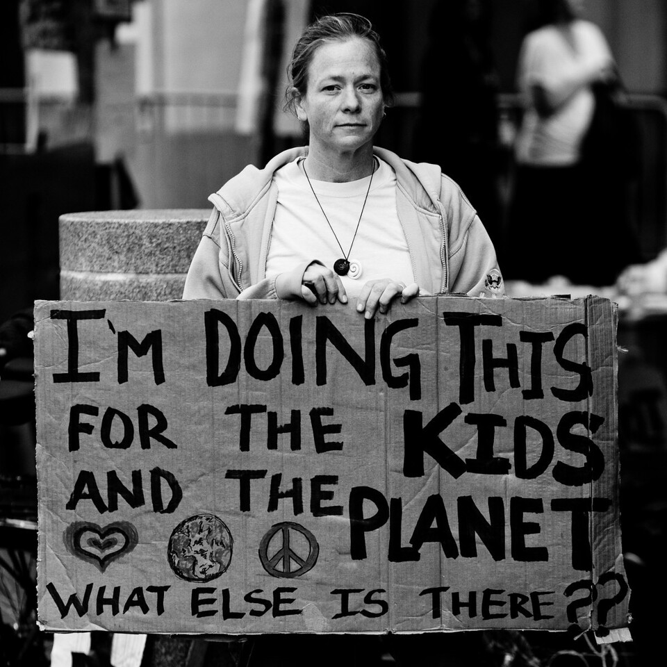I'm Doing This For the Kids and the Planet, What Else is There??