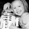 Katie and R2D2