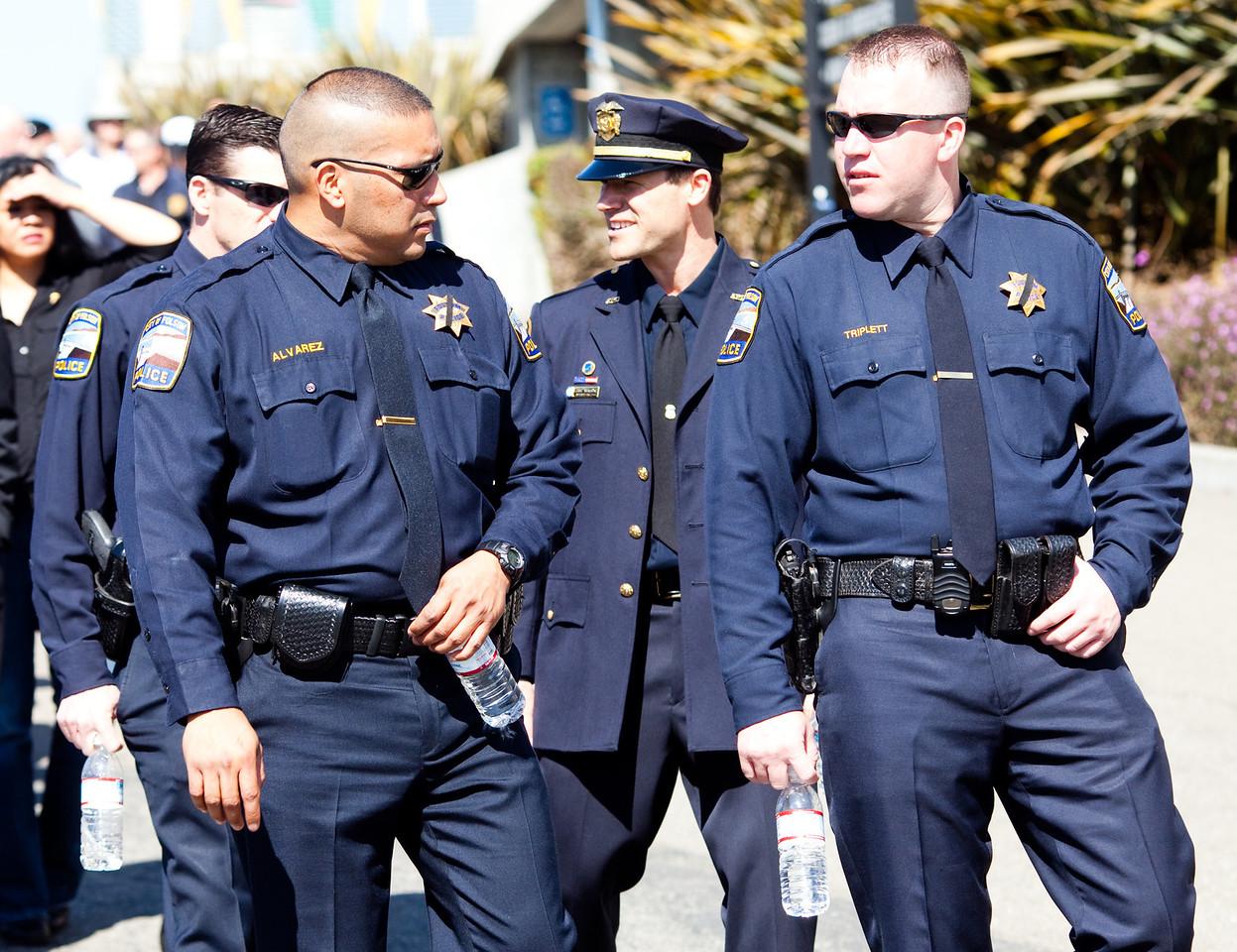 Oakland PD Memorial Service-13