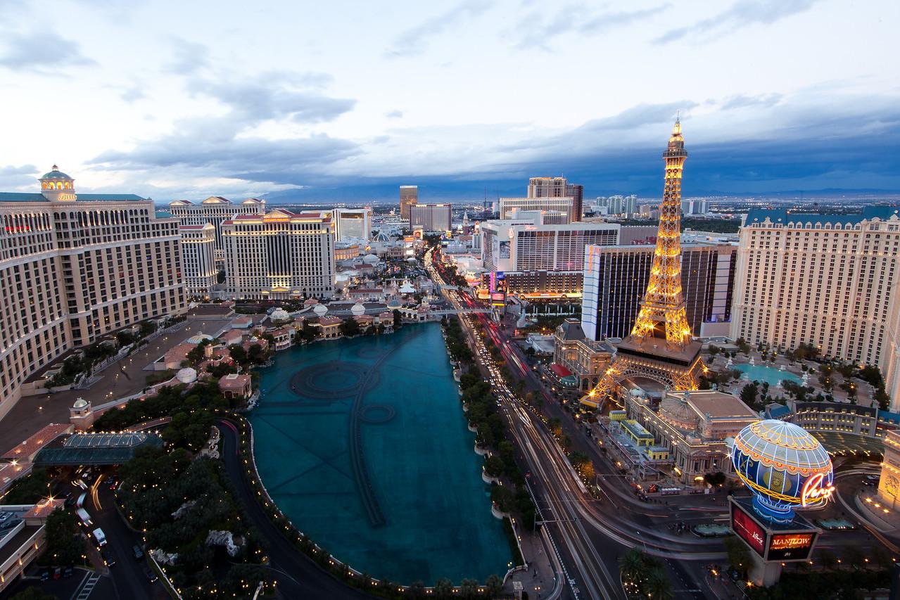 Skies and Las Vegas