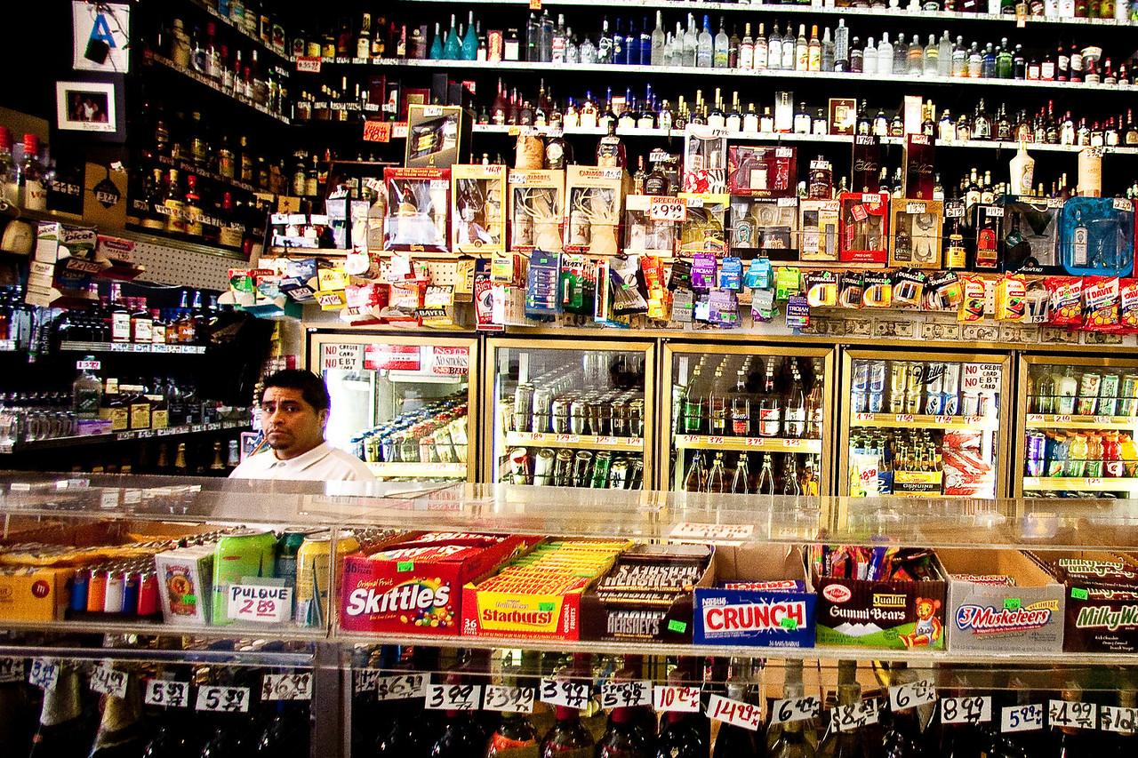 Mr Liquor Store Man