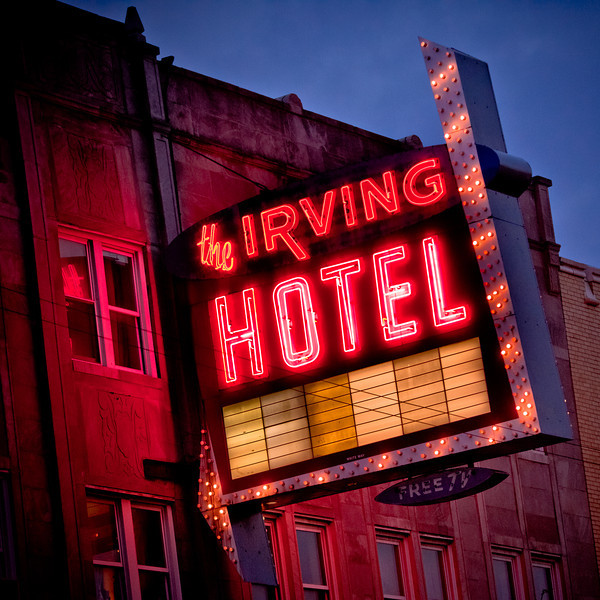 The Irving Hotel, Plate 3