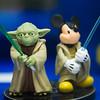 Yoda and Mickey