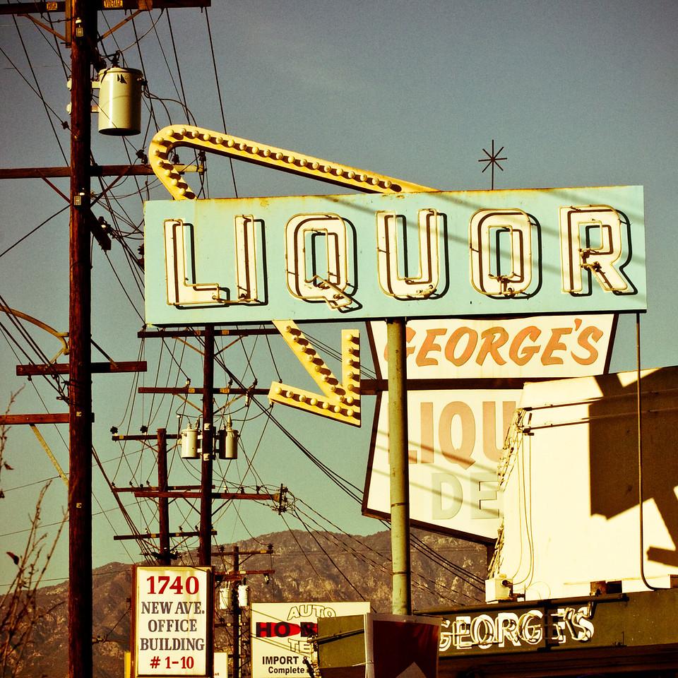 George's Liquor, Plate 2