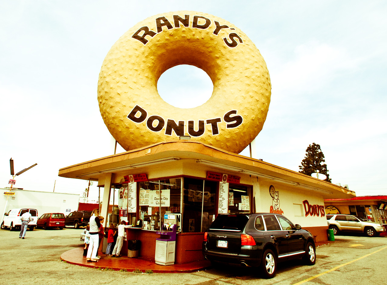 Randy's Donuts, Plate 2