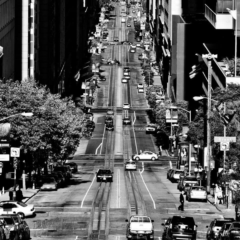 California Street, 2009, Plate 3
