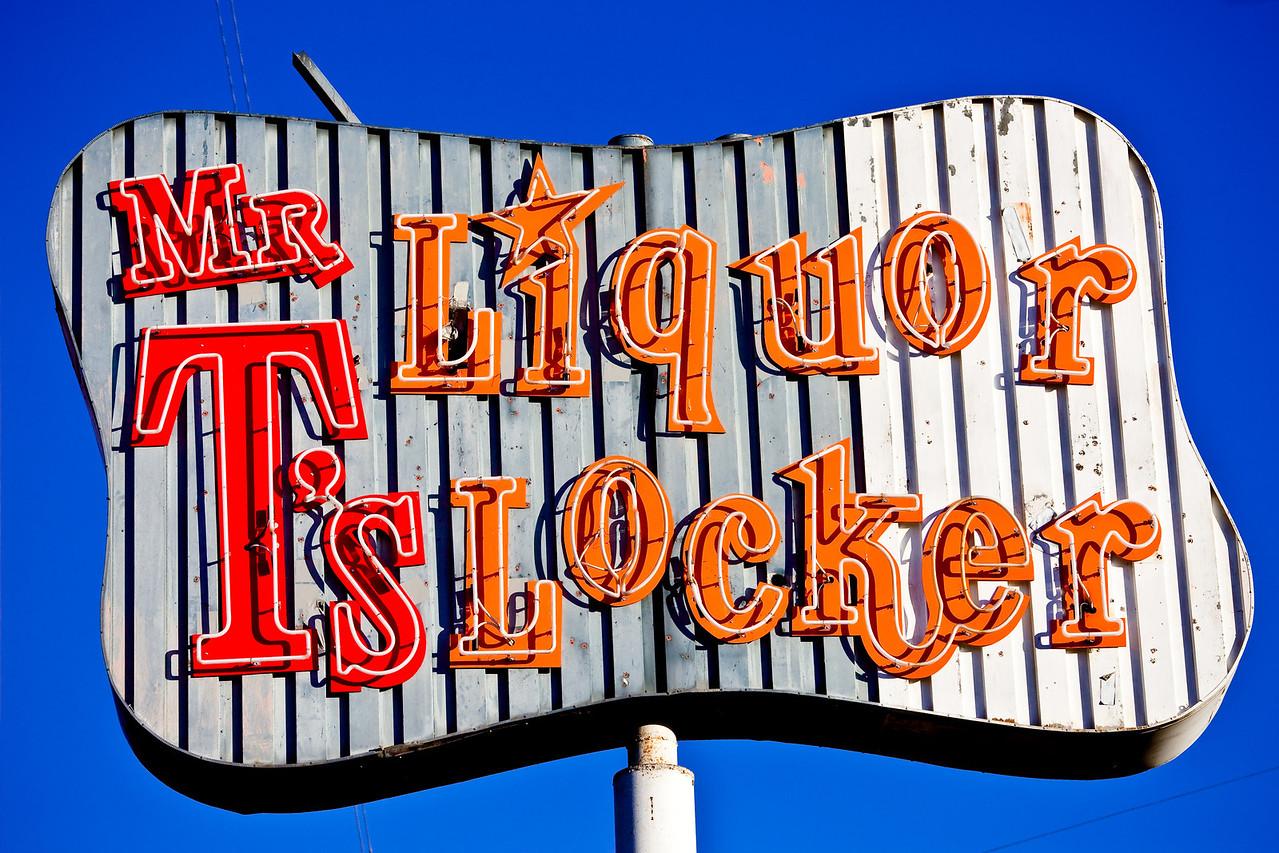 Mr T's Liquor Locker, Plate 7